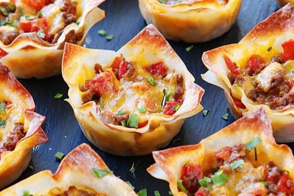 Bariatric Recipes - Crunch Taco Cups