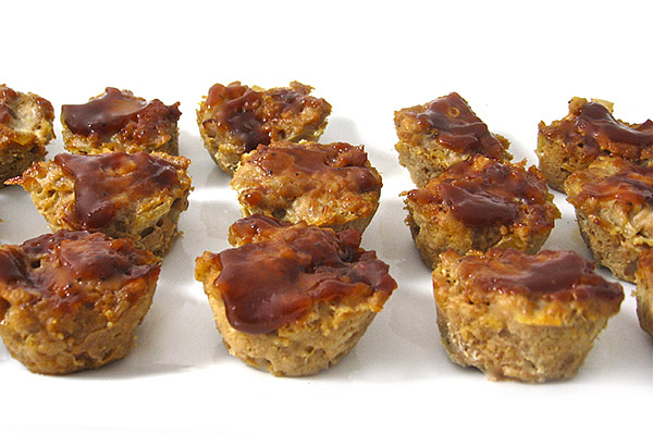 Bariatric Recipes - BBQ Meatloaf Muffins