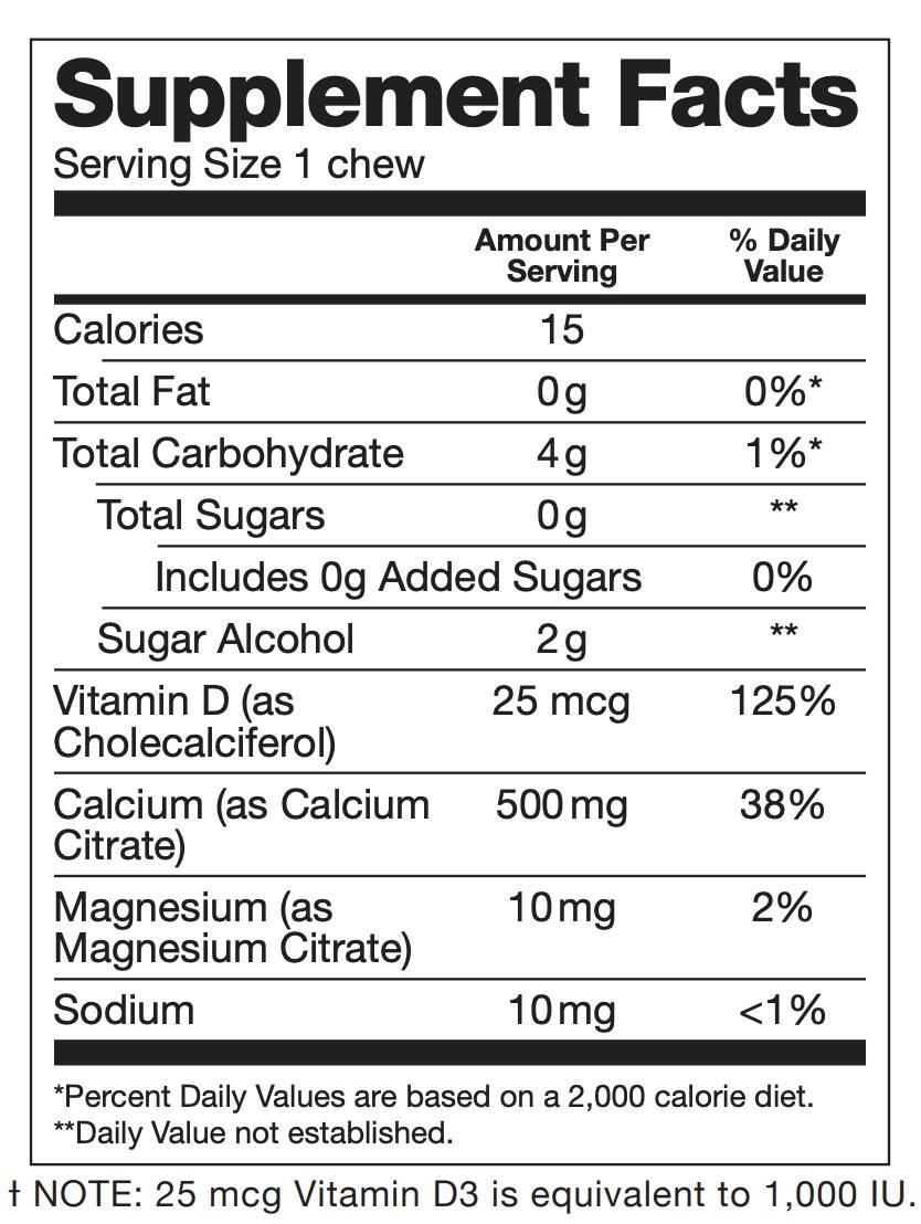 BariBursts - Watermelon Calcium Citrate