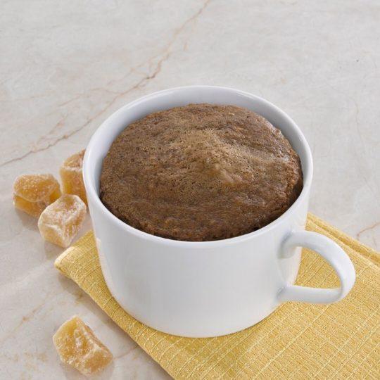 Gingerbread Protein Mug Cake