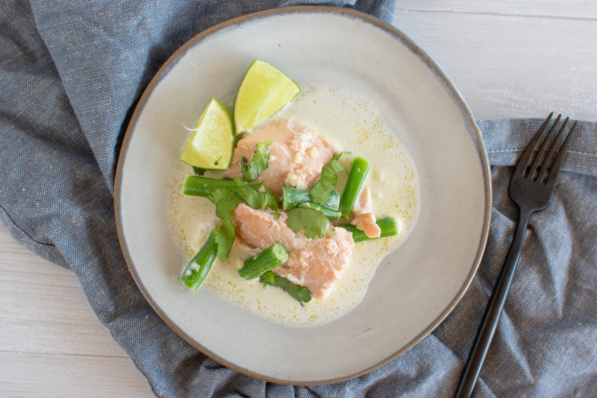 Coconut lime salmon 3