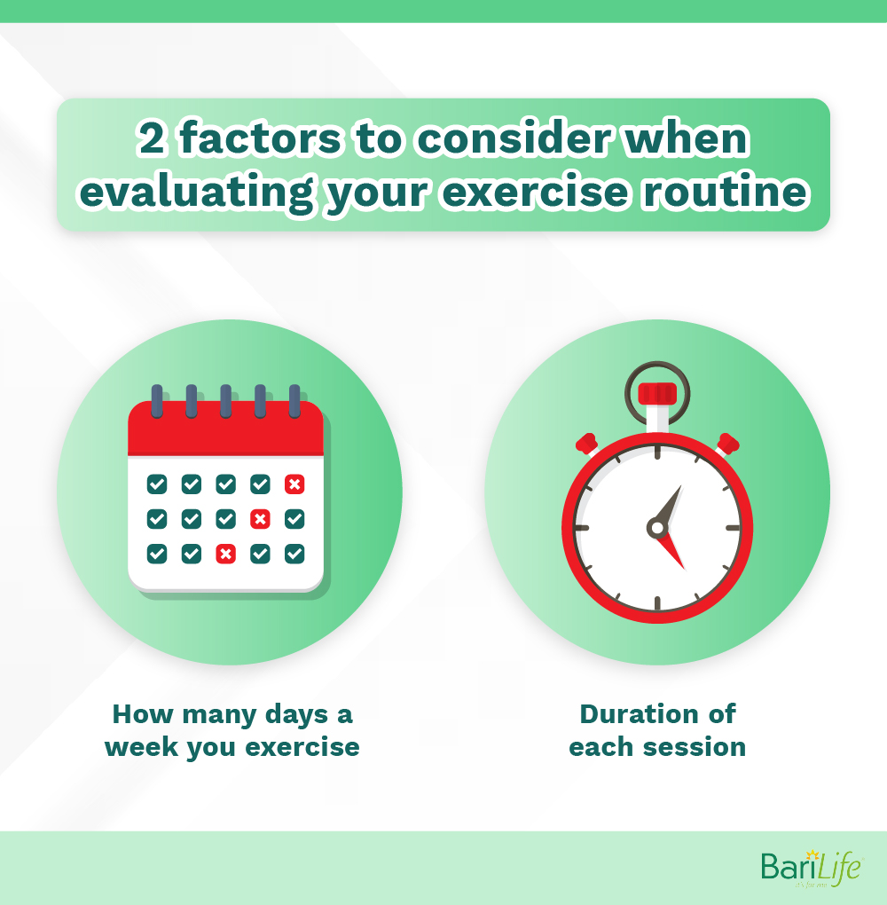 Factors to consider when evaluating your exercise routine