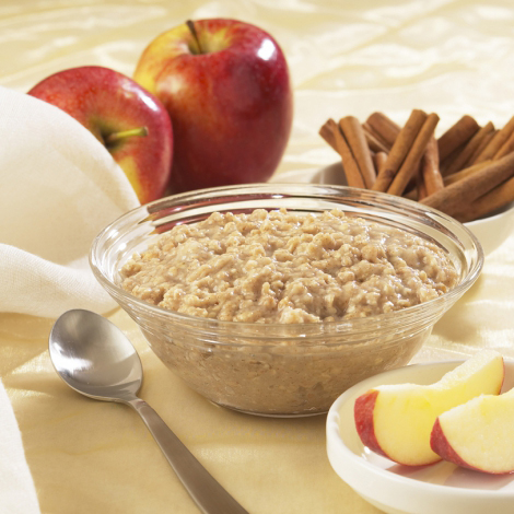 Apple Cinnamon Protein Oatmeal