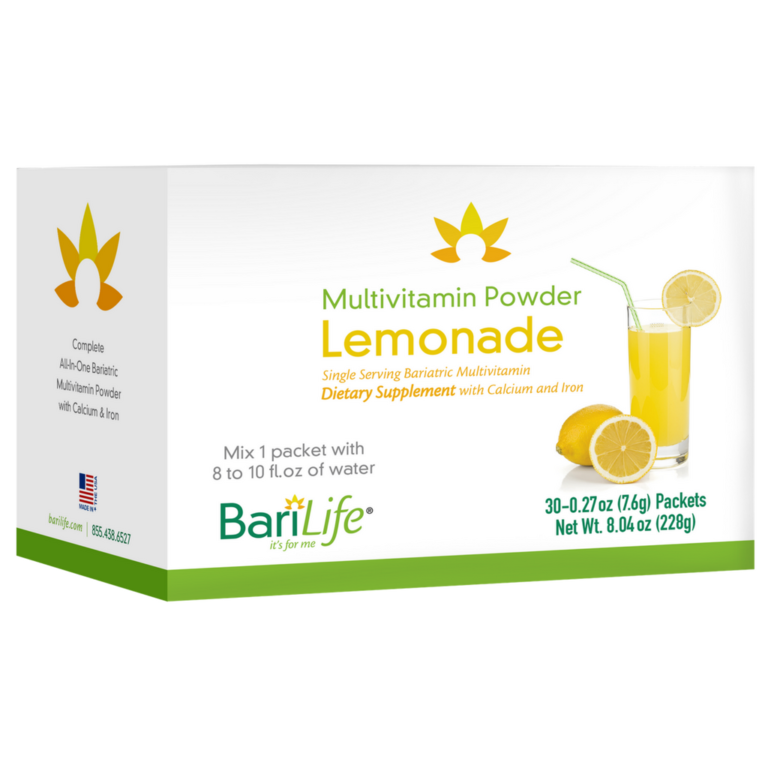 Bariatric Multivitamin Powder Packets – Lemonade