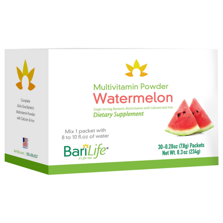 Bariatric Multivitamin Powder Packets - Watermelon