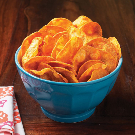 Barbecue Protein Chips