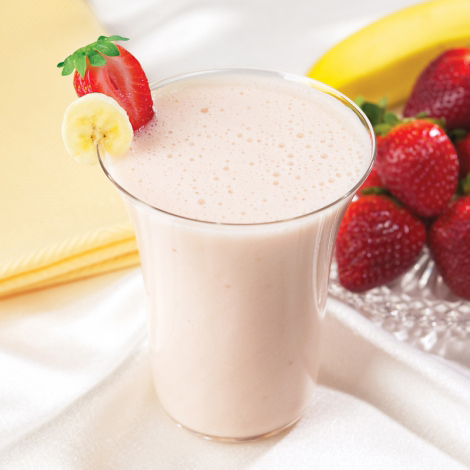 Strawberry Banana Protein Smoothie Packets